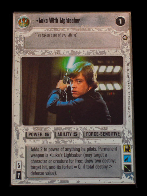 Luke Skywalker (Star Wars CCG)